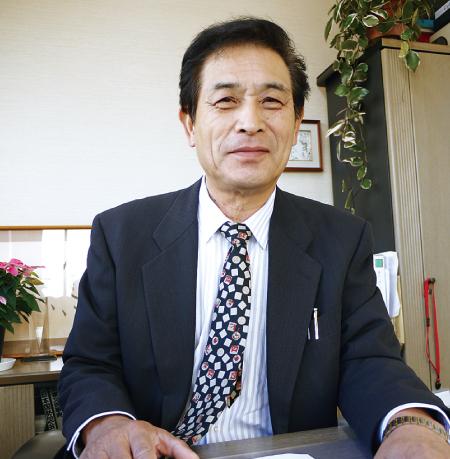 金田正章社長
